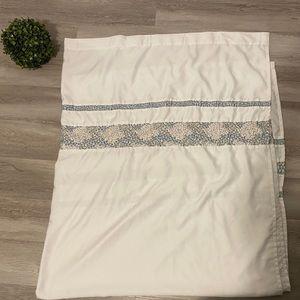 White Elegant Shower Curtain